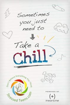 """As a teen, there are moments in your life when you're really stressed and just need to """"Take a Chill."""" This app is full of tools to help manage that stress, and bring mindful practices into a daily routine. Using quick mindful exercises and thoughtful activities, begin to overcome those moments whether it's studying for a test or preventing negative thoughts and patterns."""