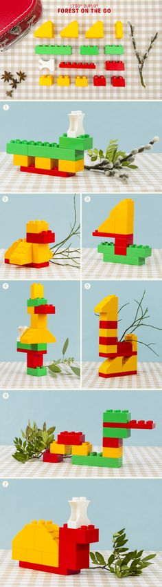DIy Lego Duplo Forest Animals