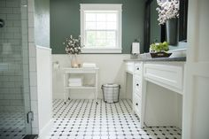 Fixer upper bathrooms with shiplap bathroom with walls and an up fixer upper bathroom shiplap . fixer upper bathrooms with shiplap Zen Bathroom, White Bathroom Tiles, Shiplap Bathroom, Bathroom Floor Tiles, Small Bathroom, Master Bathroom, Shared Bathroom, Tile Floor, Bathroom Ideas