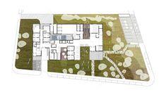 Centro de Salud Muros,Plano del Sitio