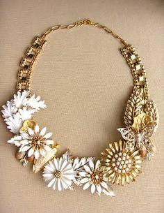 vintage jewlery | Recycled Vintage Jewelry | Trash Fashion
