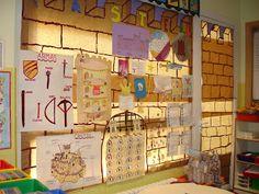 LA CLASE DE MIREN: mis experiencias en el aula: DECORAMOS EL RINCÓN DE LOS CASTILLOS
