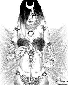 enchantress drawing - Pesquisa Google                                                                                                                                                                                 More
