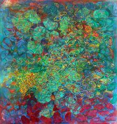 Gustavo Vejarano ~ Arrecife Azul, 2011 (mixed media)