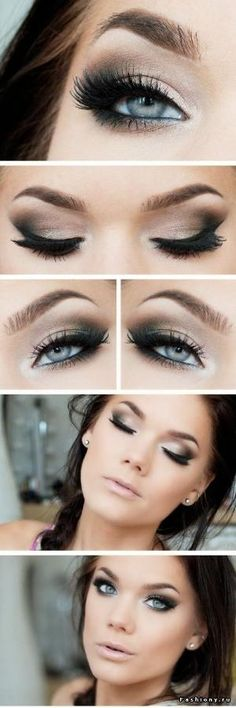 maquillage mariage yeux bleu - Google Search by samanthasam
