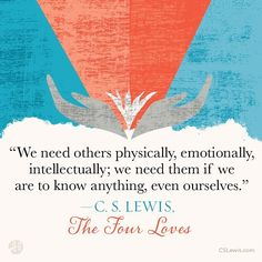 """315 Likes, 6 Comments - C. S. Lewis (@cslewis_official) on Instagram: """"The Four Loves... #cslewis #cslewisquotes #cslewisbooks #thefourloves #quotes #quotestoliveby…"""" Fear Of Love Quotes, Quotes To Live By, Love Fear, Cs Lewis Quotes Love, Me Quotes, The Four Loves, Cs Lewis Books, Quotable Quotes, Relationships Love"""