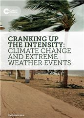 Cranking up the intensity: climate change and extreme weather events