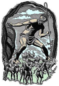 Unknown Artist - Polyphemus. Tags: cyclops, cyclopes, polyphemus, polyfemos, odyssey, ulysses, odysseus,