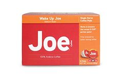 Joe Knows Coffee Wake Up Joe Single Serve Pods 12 CountBox ** Learn more by visiting the image link. Note: It's an affiliate link to Amazon.