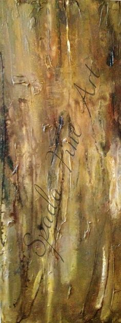 Woodhaven - 16 x 40 - Acrylic and Mixed Media - $950
