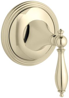 Finial Traditional Valve Trim with Lever Handle for Volume Control Valve, Requires Valve