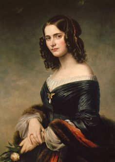 Cécile Mendelssohn Bartholdy (1817-1853), née Cécile Jeanrenaud, wife of German…