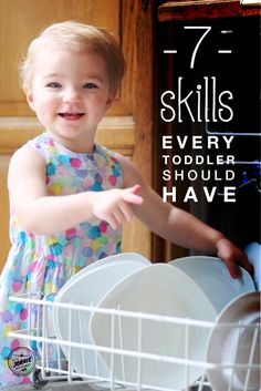 7 skills every toddler should have