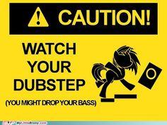Watch Your Dubstep - Vinyl Scratch, DJ Pon-3, Ponies, My Little Pony, Friendship is Magic