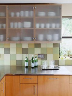 Glass Kitchen Cabinet Doors white kitchen cabinets with frosted glass doors | shayla's loft