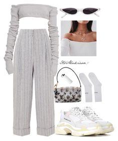 Brunello Cucinelli, Balenciaga, Louis Vuitton and clothing
