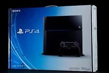 Sony PlayStation 4 500 GB Black Console & Free Game Offer