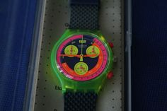 Swatch GRAND PRIX SCJ101, rare, in the original packaging, read carefully Grand Prix, Swatch, Packaging, The Originals, Accessories, Wrapping, Pattern, Jewelry