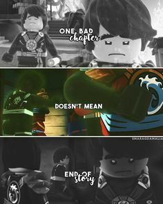 """[ """"One bad chapter doesn't mean end of story"""" ] ⚪#LEGONinjago #Ninjago ⚪S5: #Possession - Cole ⚪My edit. Hope you'll like it. :-) ⚪if you repost, please dont forger to give me credit. Credit isn't necessary but very appreciated.  #ninjago2017 #ninjagofan  #ninjagoedit #fanedit #quote #past #future #friends #motivation #bepositivealwaysandgoodthingswillhappen #nevergiveup"""