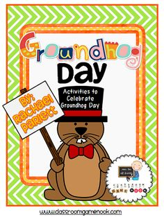 $ Groundhog Day Math & Literacy Activities: 2nd-4th