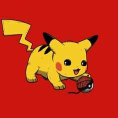 Tee shirt Pikachu, Parodie Pokemon, T-shirt equitable, Geek