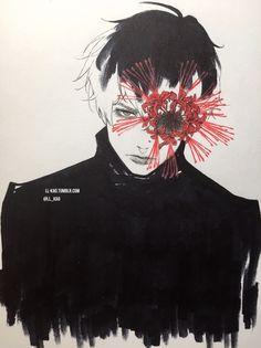 art tg Toukyou Kushu Tokyo Ghoul art kao sasaki haise ll-kao Manga Anime, Manga Art, Anime Guys, Ken Kaneki Tokyo Ghoul, Chibi, Punch Man, Tsukiyama, Ecchi, Anime Sketch