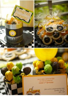 Image detail for -Birthday Party | Boys Birthday Party Ideas | Monster Truck Party ...