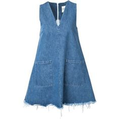 Sandy Liang Doris Denim Dress