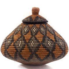 African Basket - Zulu - Ukhamba