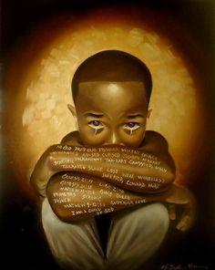 Black Love Art, Black Girl Art, My Black Is Beautiful, Black Child, Black Man, Black Boys, African American Art, African Art, Natural Hair Art