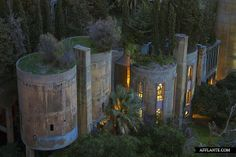 The Factory | Ricardo Bofill - disused cement factory transformed into the head office of Taller de Arquitectura!!!!
