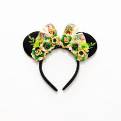 Jungle Book Disney Ears Headband Mouse Ears by LUVKittyKatrina