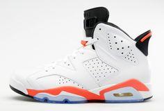 """Air Jordan VI """"White Infrared"""""""