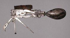 antigo canivete romano