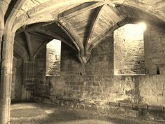 The Cellars of the Strong Tower - Kenilworth Castle, Warwickshire. by greentool2002, via Flickr