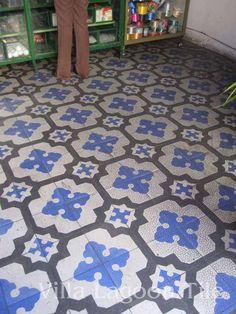 Custom Cuban tile from Villa Lagoon Tile