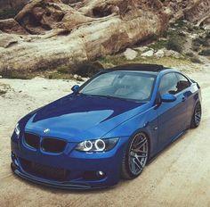 BMW E92 3 series blue