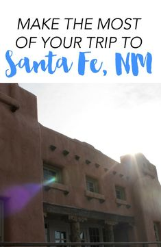 Make the most of your vacation to Santa Fe, New Mexico! Santa Fe is full of beautiful art, color, and is a great place to vacation! Here are ideas of what to do, what to see, and where to eat in Santa Fe.