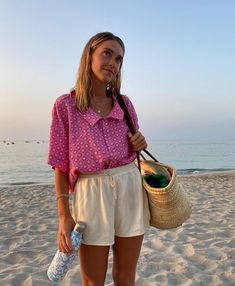 Diy Camisa, Spring Summer Fashion, Spring Outfits, Surfergirl Style, Looks Style, My Style, Summer Lookbook, Fashion Outfits, Womens Fashion