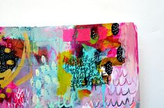 i'm restless - art journal spread — Journal Girl