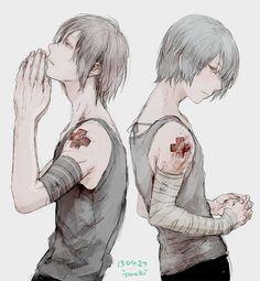 Dark anime boys Ero Guro Eiko
