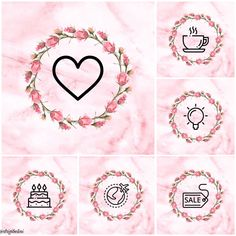 Capas para destaques do Instagram Instagram Blog, Story Instagram, Printable Frames, Wall Stickers Quotes, Instagram Background, Cute Girl Wallpaper, Instagram Highlight Icons, Story Highlights, Picsart