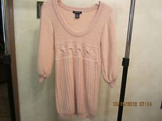 Women's Designer Boutique Sweater Dress Size x Small by Arden B Angora Blend | eBay