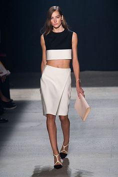 The New York Spring 2014 Trend Report: Contrast Sports - Narciso Rodriguez
