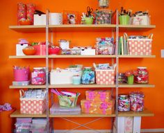 Craft Room Storage | Chic Spaces for Little Faces: Toy Storage Ideas
