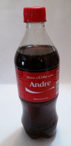 Share a Coke with ANDRE-2015 LIMITED EDITION 20 oz. Coca-Cola-Hard to Find…