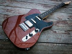 Fender Blacktop Telecaster Baritone, Classic Copper