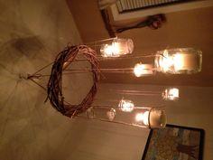 Handmade rustic chandelier