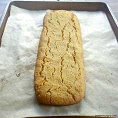 Almond Flour Biscotti {4 ingredients, Vegan, Grainfree, Paleo}