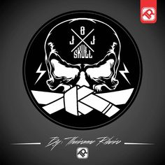 """""""The new logo BJJ SKULL - Art by: @thaironnesribeiro"""""""